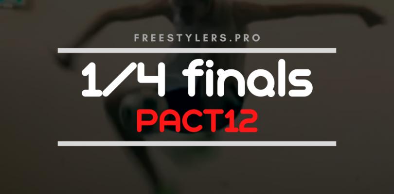 PACT12, IACT2020 – 1/4 finals battles!