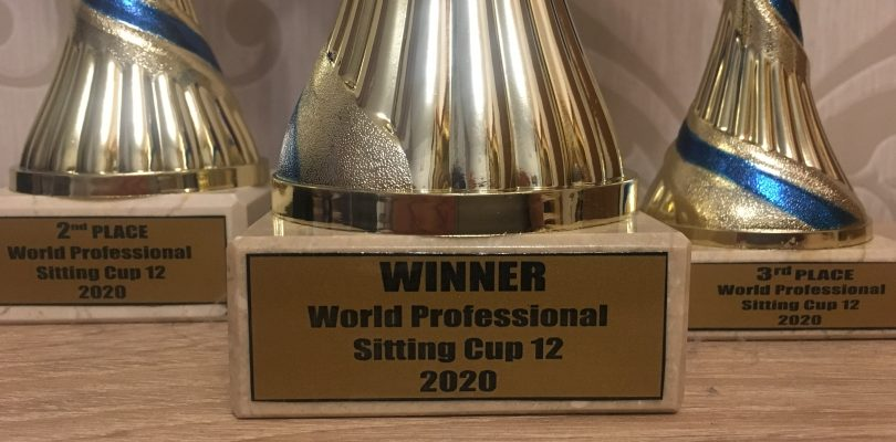 WPSC12 – results of the main SITTING tournaments in 2020