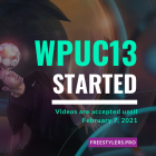 WPUC13 – the best online UPPERS tournament of 2021 has started!