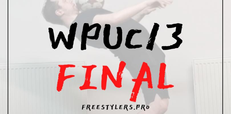 WPUC13 – FINAL round!