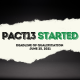 PACT13 started!