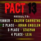 PACT13, IACT2021 – results of the main LOWERS tournaments in 2021